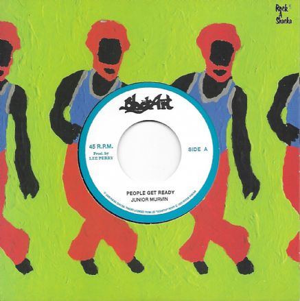 Junior Murvin - People Get Ready / The Upsetters - Dub (Black Art / Rock A Shacka) 7